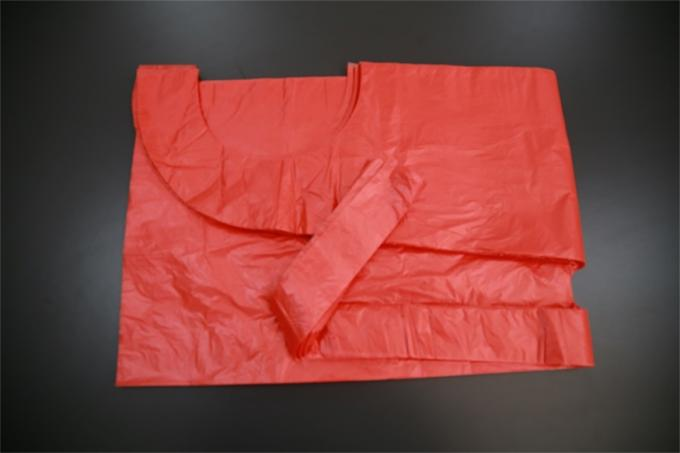 Customized Polythene Disposable Medical Aprons Waterproof Biodegradable