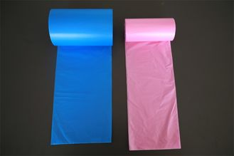 LDPE / HDPE Plastic Garbage Bags Biodegradable , Strength