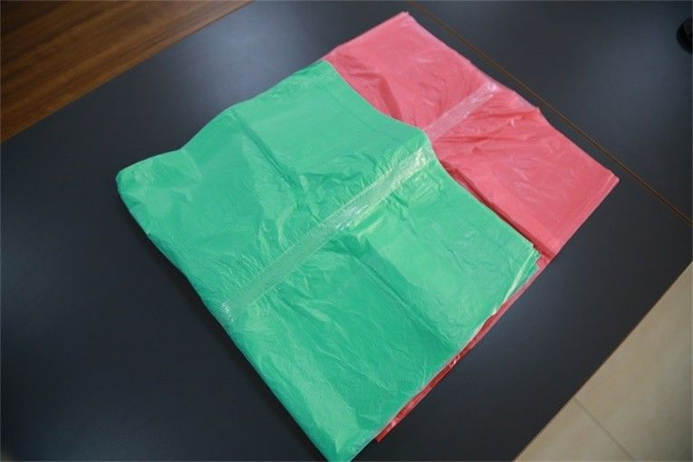 Hygienic HDPE LDPE Laundry Bags With Soluble Strip Dissolved In Cold Water