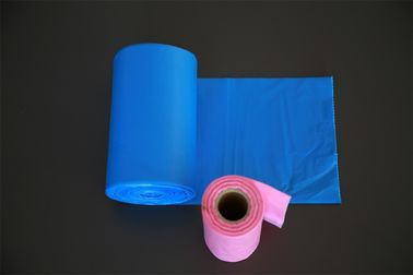 Eco Friendly Disposable Plastic Garbage Bags 50x50cm For Home / Office Cleaning